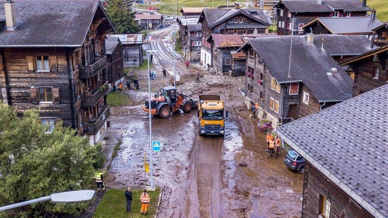 Coulées de boue à Oberwald: «On a eu la trouille de notre vie!»