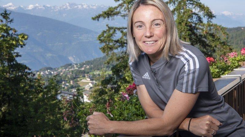 Football: l'OL féminin s'entraîne sur le Haut-Plateau