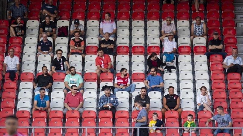 Les tribunes du stade de Tourbillon accueilleront de nouveau des spectateurs sans limitation après un printemps durant lequel la capacité était limitée à 100 personnes en raison de la pandémie.