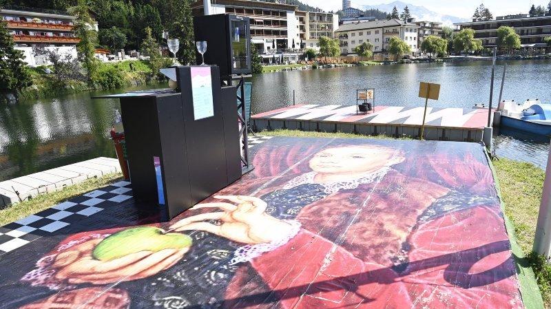 Vision Art Festival: un air de Wes Anderson flotte à Crans-Montana