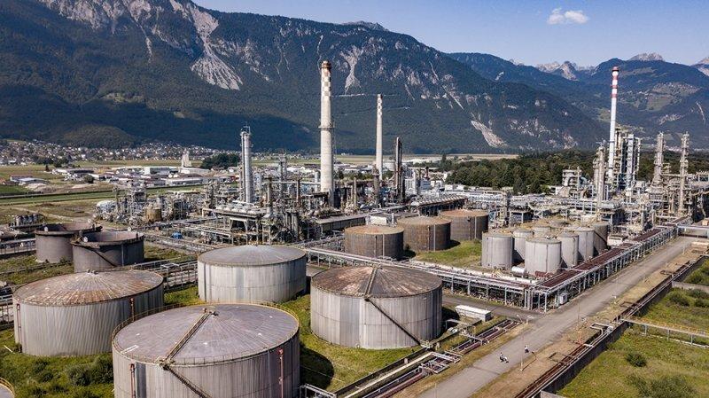 Plusieurs sites sont pollués dans le Chablais, dont celui de l'ancienne raffinerie Tamoil à Collombey-Muraz.