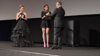 """Laetitia Casta au Festival de Locarno: """"C'est comme arrêter le temps"""""""