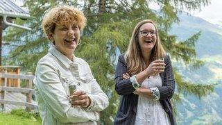 Marianne Maret et Sarah Constantin: l'album photos des rires au mayen