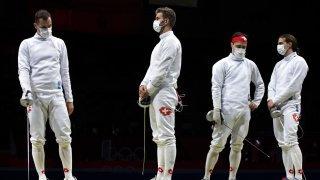 Epée par équipes: pas de médaille pour la Suisse et le Saviésan Lucas Malcotti