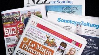 Revue de presse: intempéries, service militaire pour les femmes et alcool chez Migros… les titres de ce dimanche