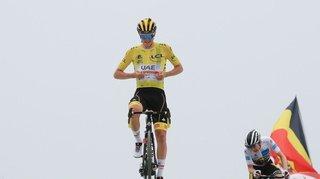 Cyclisme – Tour de France: Pogacar renforce son maillot jaune en gagnant la 17e étape