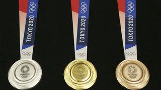 JO 2021: le tableau des médailles en un coup d'œil