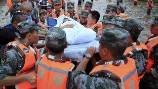 Inondations en Chine: le bilan grimpe à plus de 300 morts