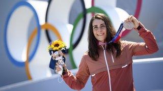 JO 2021 – BMX freestyle:la Genevoise NikitaDucarroz assure une 12e médaille à la Suisse