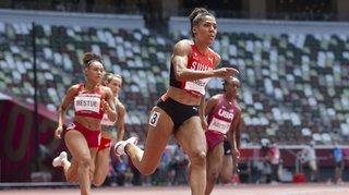 JO 2021 et athlétisme: Mujinga Kambundji qualifiée pour la finale du 200 m