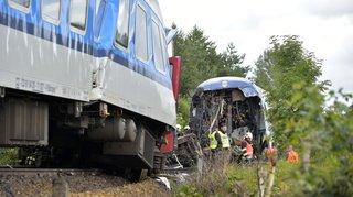 Accident detrain en Tchéquie: deux morts et près de 40 blessés