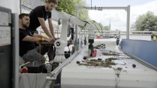 Environnement: un robot intelligent parvient à retirer le plastique des rivières