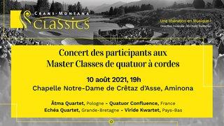 Concert des participants aux Master Classes