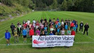 L'avenir de l'athlétisme valaisan réuni en camp à Ovronnaz