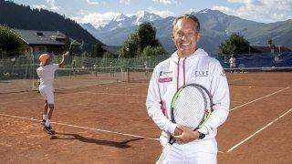 Tennis: Yves Allegro se partage entre la plaine, la montagne et le monde