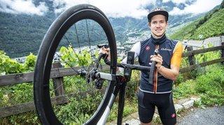 Cyclisme: première course nationale pour Arnaud Tissières