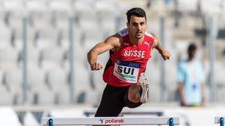 Athlétisme: Julien Bonvin sera bien au rendez-vous de la finale