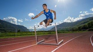 Athlétisme: Julien Bonvin s'est qualifié pour les demi-finales du 400 mètres haies