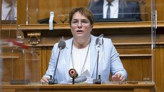 Nucléaire: l'UDC Magdalena Martullo-Blocher veut une nouvelle centrale