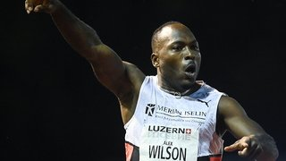 Athlétisme: Alex Wilson bat le record d'Europe du 100 m!