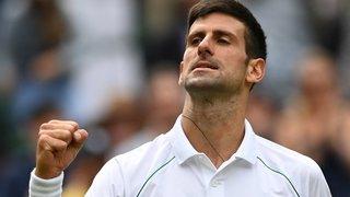 Tennis – Wimbledon: tranquille, Djokovic passe en quarts sans trembler
