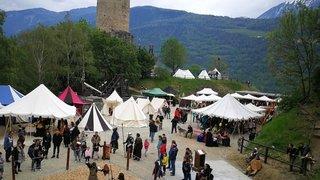 Martigny: retour au Moyen Age au château de la Bâtiaz