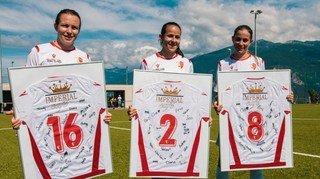 FC Sion féminin: une belle fête de départ