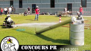 Concours pompiers (protection respiratoire)