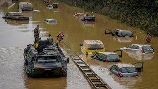 Inondations à Yverdon, inondations en Allemagne, pèlerinage en Arabie Saoudite: la galerie photos du 17 juillet 2021