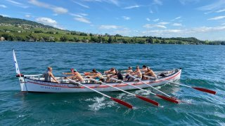 Le Bouveret: ils font le tour du lac Léman avec un bateau de 100 ans