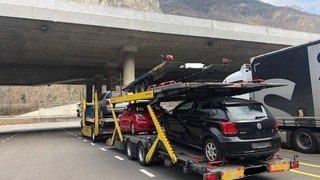 Trafic poids lourds: la police dénonce plusieurs infractions en Valais