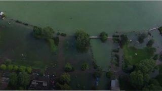 Situation tendue autour du lac de Bienne