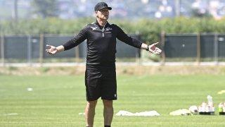 Football: Marco Walker (entraîneur du FC Sion): «Nous n'avons pas eu les c… pour défendre»