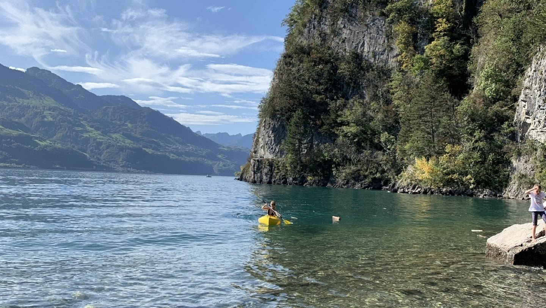 Le Walensee, ce fjord qui a même eu son Titanic