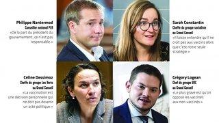 Vaccination: trois partis soutiennent Frédéric Favre, mais pas le PLR