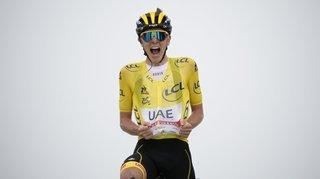 Tour de France: Tadej Pogacar reste le meilleur sans écraser la concurrence