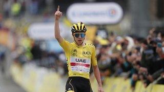 Tour de France: il n'y a qu'un patron, c'est Tadej Pogacar