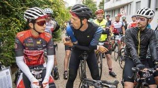 Cyclisme: Steve Morabito est remonté en selle pour la bonne cause