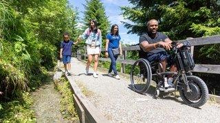La Tzoumaz ouvre un Espace nature inclusif et destiné à toutes les familles