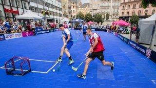 Saint-Maurice: opération séduction pour le street-unihockey
