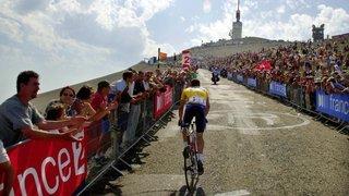 Cyclisme: «Le Ventoux, c'est un rendez-vous avec le mythe», témoignent les cyclos valaisans
