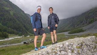 Trail: deux Nyonnais partent à la conquête de la Via Valais