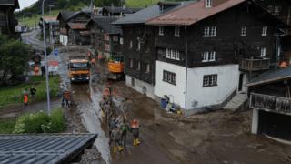 Oberwald: les travaux de nettoyage ont commencé