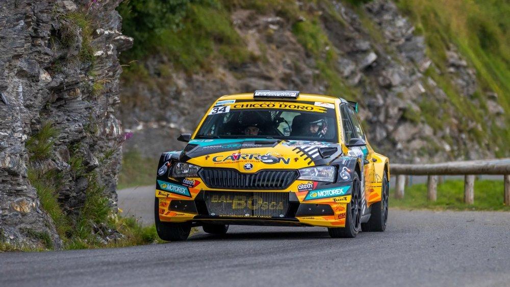 Sébastien Carron a signé un 21e succès dans le cadre du championnat suisse des rallyes.