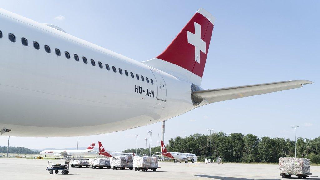 Les pays qui pourraient être concernés par les vols 100% vaccinés chez Swiss ne sont pas connus.