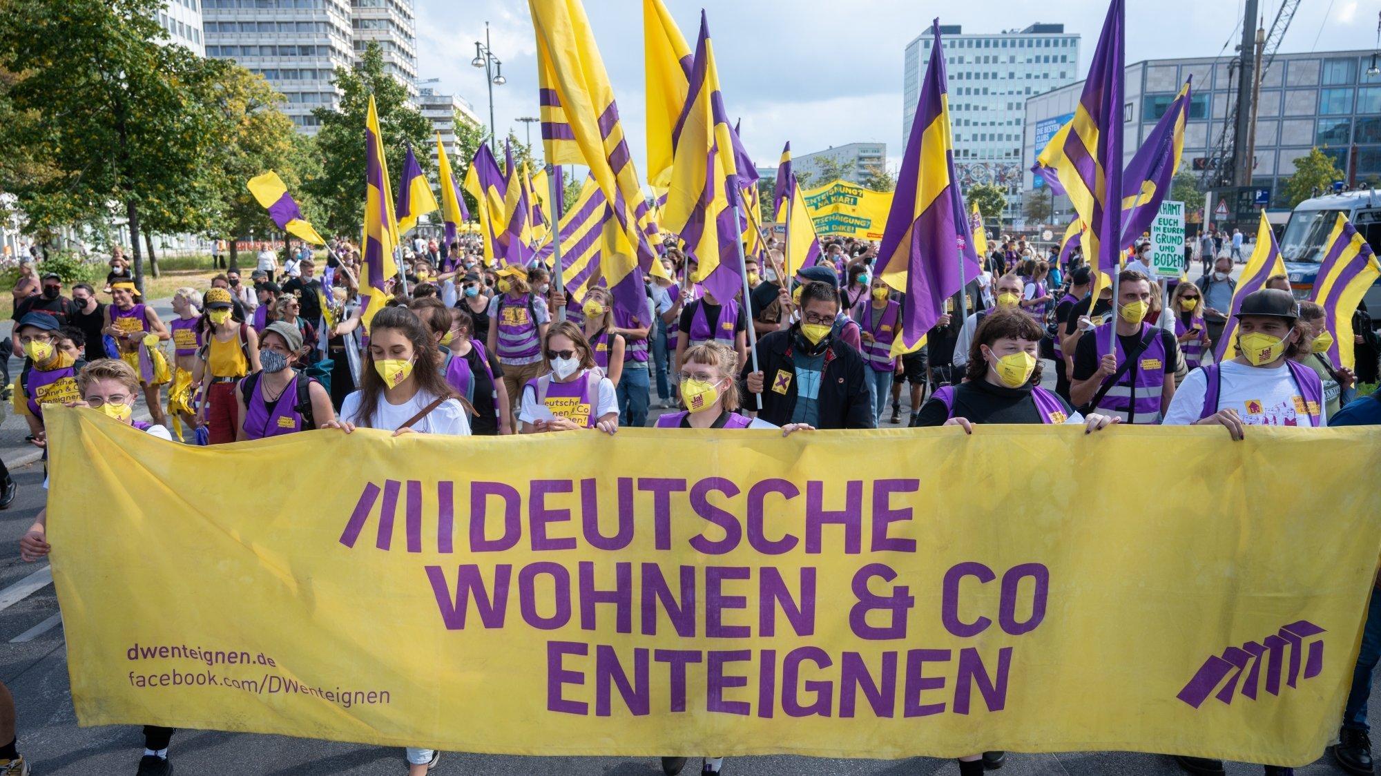 La manifestation a réuni 20'000 personnes venues de tout le pays le 11 septembre dernier à Berlin.