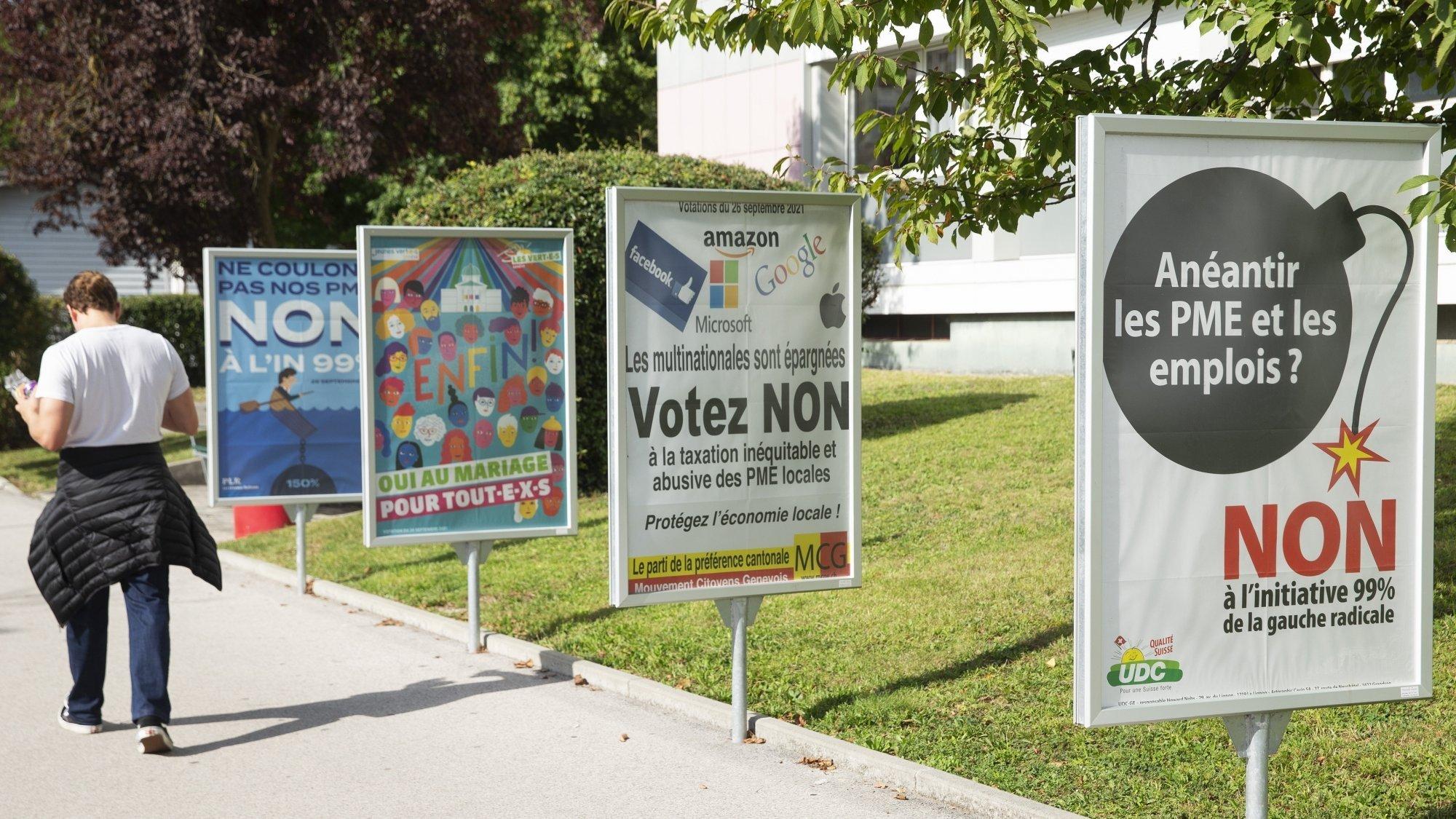 La mobilisation contre l'initiative était forte. 64,9% des votants ont rejeté cette dernière, hier.