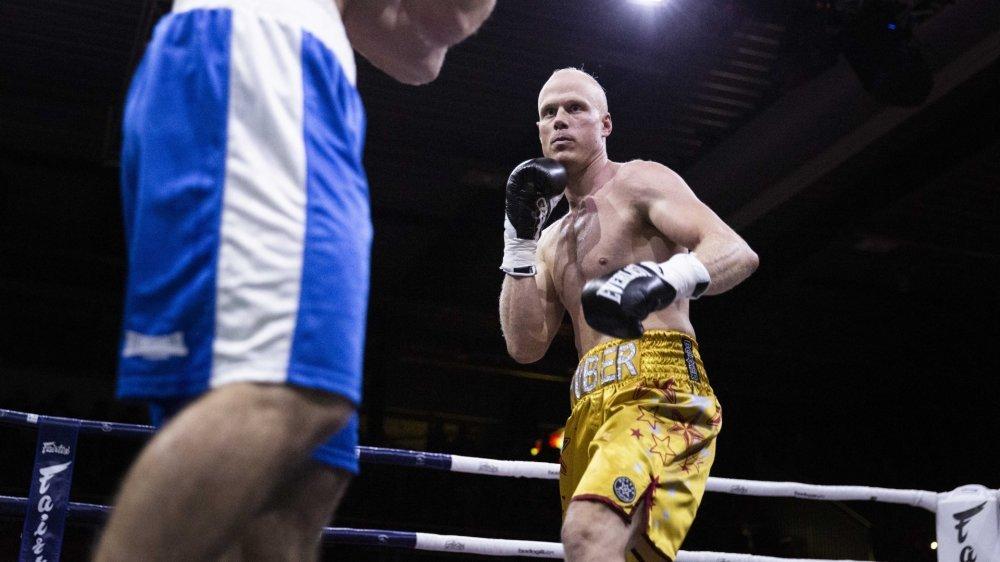 Benoît Huber se sentait prêt à poursuivre le combat.