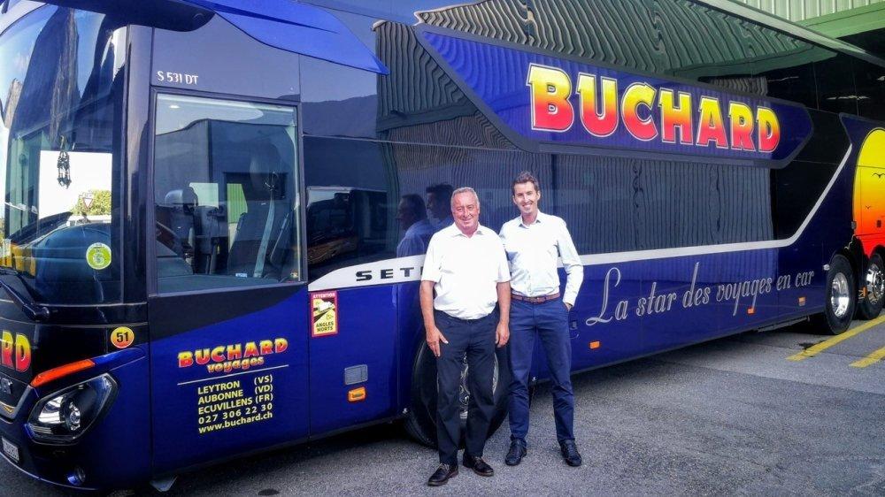 Représentant de la troisième génération familiale, François Buchard a succédé à son oncle Jean-Albert à la direction du groupe Buchard Voyages.