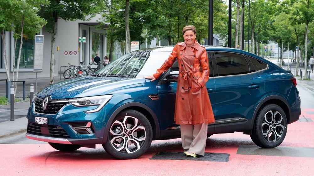 Un nouveau SUV coupé dont le lancement coïncide avec la nomination de la nouvelle directrice générale, Claudia Meyer.